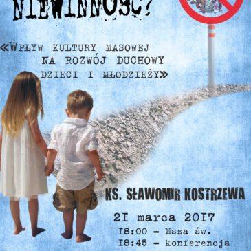 Konferencja ks. Sławomira Kostrzewy