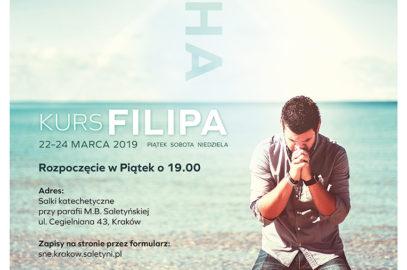 KURS FILIPA 22-24 MARCA 2019
