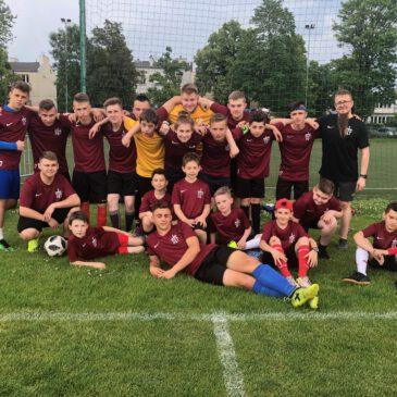 III MIEJSCE w IX Międzynarodowym Turnieju Piłkarskim Saletyńskiej Służby Liturgicznej w Warszawie