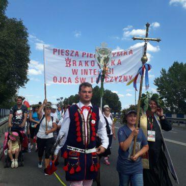 6-11.08.2019 r. Krakowska Pielgrzymka na Jasną Górę – fotorelacja