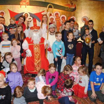 Św. Mikołaj odwiedził naszą Parafię…