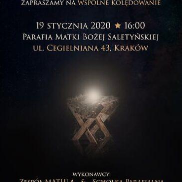 Zaproszenie na Wspólne Kolędowanie – 19.01.2020 r.