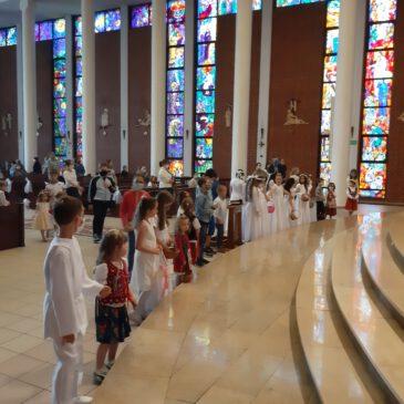 Zakończenie Oktawy Bożego Ciała, błogosławieństwo Dzieci 18.06.2020 r.- fotorelacja