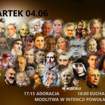 DNI NADZIEI – Program na CZWARTEK 04.06.2020 r.
