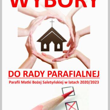 WYBORY DO RADY PARAFIALNEJ 2020/2023