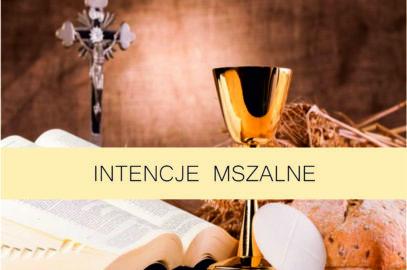 Intencje Mszalne 13-19 Września 2021 r.